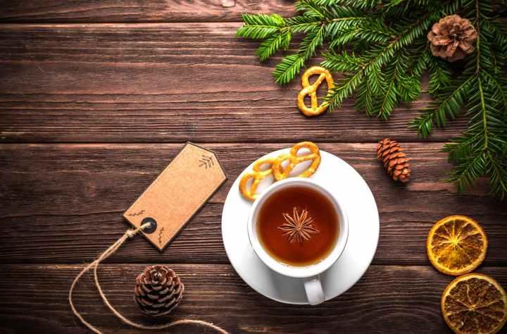 christmas cinnamon cup decoration