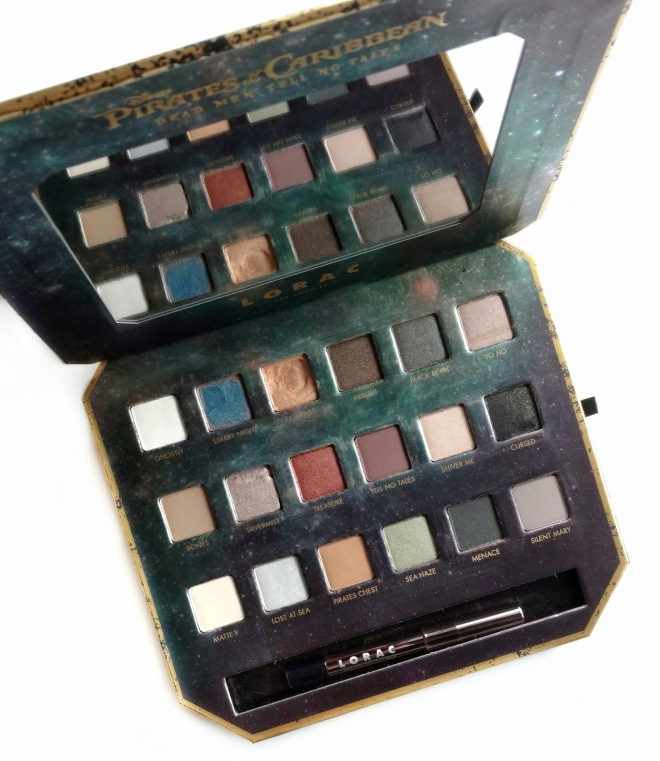"""Image result for pirates of the caribbean lorac palette"""""""